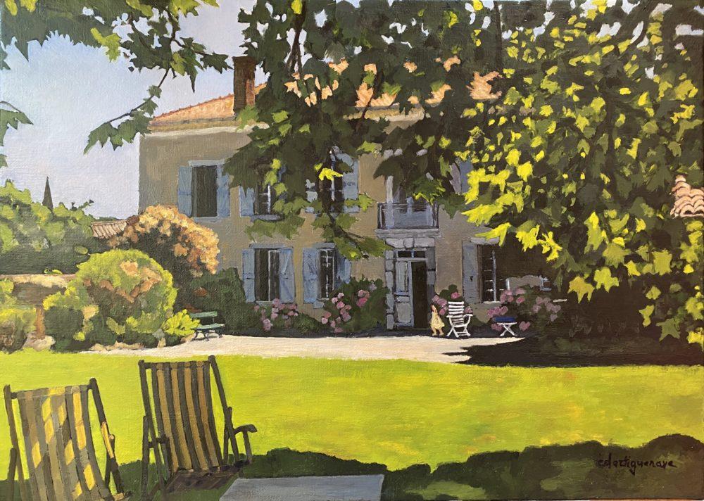 Pointis-Inard, le jardin du Nord-Catherine Dartiguenave- hst2020 33x46