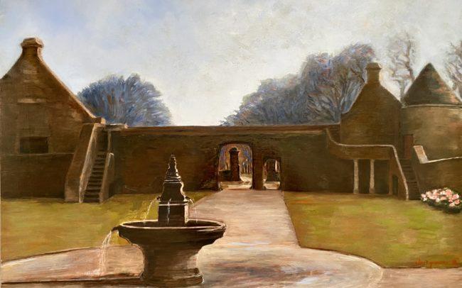 Fontaine et porte cavalière à Kerouartz hst2019 60 - Catherine Dartiguenave-x81